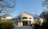 Das 1914 erbaute und teils denkmalgeschützte Elefantenhaus wurde für rund 20 Millionen Euro saniert. (Foto: JET-Gruppe)