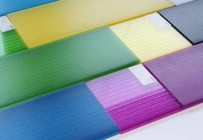 Die matte Oberfläche der Elemente reduziert störende Reflexionen. Foto: Rodeca GmbH