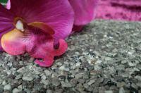 Steinteppich aus Marmorkies