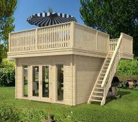 Luxus pur: Das Terrassendachhaus