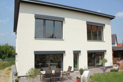 Das beidseitig verputzte Mauerwerk erzielt einen Wärmedurchgangswert von 0,14 W/m²K und ist damit für Passivhäuser geeignet.