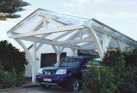 Hagelsichere Stegplatten aus Polycarbonat bieten langjährigen und sicheren Schutz für Fahrzeuge. (Foto: Wilkes Kunststoffe)
