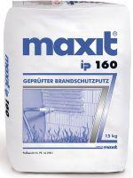 """Der Brandschutzputz """"maxit ip 160"""" ist jetzt auch für Stahlstützen und Stahlträger zugelassen (Foto: maxit)."""