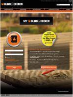 MyBlack&Decker ermöglicht registrierten Anwendern, aktiv in der Marken-Community zu werden
