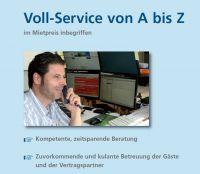 Zeitsparende Kompetenz (vom minutenschnellen Buchen, über umfassende Beratung und Information, zu 5-Stern-Dienstleistungen von A b