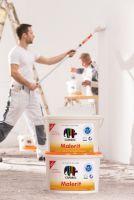 Innenfarbe Malerit ist jetzt mit neuester E.L.F. plus Technologie ausgestattet. (c)Caparol Farben Lacke Bautenschutz