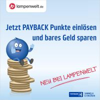 Traumleuchten mit PAYBACK Punkten bezahlen. | © Lampenwelt.de