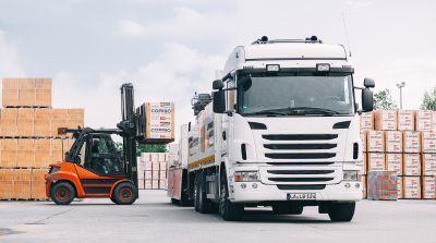 Dank vorausschauender Betriebsführung sowie Rohstoffabbau vor Ort hat LB keine Lieferprobleme. (Bild: Leipfinger-Bader)