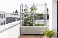 Urban Gardening mit dem Balkon-Gewächshaus Terra von Hoklartherm