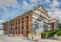 Frankfurter Modellprojekt: Die Wohnanlage bietet hohe Wohnqualität bei gleichzeitig niedrigen Mietkosten (Bild: Unipor, München).