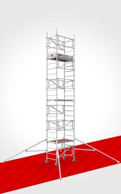 MySelf-Tower. Aluminium-Gerüst für schnelle und sichere 1-Personen Montage