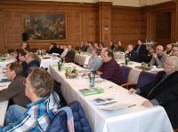Knapp 250 Bauprofis informierten sich beim KLB-Fachforum 2015 über Zukunftsthemen wie Nachhaltigkeit oder Energieeffizienz.