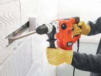 Der Kombihammer KD1250K kann bohren, hämmern und meißeln und ist damit für eine Vielzahl von DIY-Aufgaben wie gemacht.