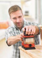 Der DUOSAND Schwingschleifer von Black & Decker saugt Staub zuverlässiger ab als vergleichbare Geräte.
