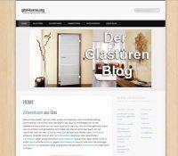 der Glasschiebetüren und Glastüren- Blogg