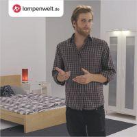 So beleuchte ich ein Schlafzimmer mit integrierter Homeoffice-Ecke individuell. | © Lampenwelt.de