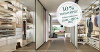 CABINET Aktion 10% Preisvorteil auf Einbauschränke