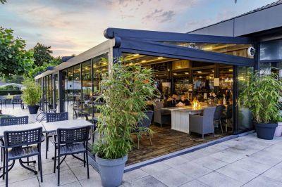 Palmiye Deutschland - Beispiel für eine Gastronomie-Überdachung