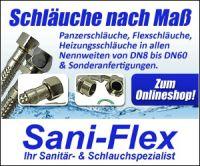 Sani-Flex – Panzerschläuche und Flexschläuche