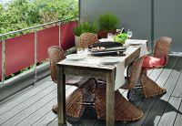 Die hochwertige Gestaltung des Balkons trägt zu einem Wohlfühlambiente im Außenbereich bei.  (Foto: Wilkes GmbH)