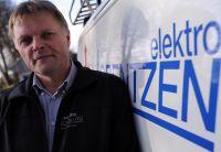 Volker Lorentzen, Geschäftsführer von Elektro Lorentzen, arbeitet seit 2016 mit Wasco-Produkten. Foto: Elektro Lorentzen