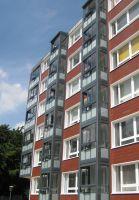 Balkone tragen zu einer Steigerung der Wohnraumqualität und -zufriedenheit der Bewohner bei.  Foto:Balco Balkonkonstruktionen GmbH