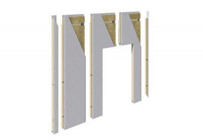 wall4all ermöglicht eine schnelle Raumtrennung und das unkomplizierte Umgestalten des Grundrisses. (Foto: wall4all)