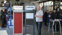 Andreas Kranke, Geschäftsführer der Firma Rollimpex, und seine Mitarbeiter bieten ihren Kunden maßgeschneiderte Rolladen