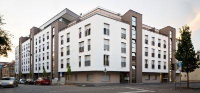 """Massive, gefüllte Mauerziegel wie der """"Unipor WS08 Coriso"""" machen einen hohen Schallschutz möglich (Foto: Unipor, München)."""