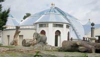 Das 1914 erbaute Elefantenhaus Hellabrunn