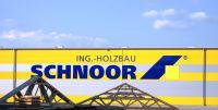 In der Produktionshalle fertigt Holzbau Schnoor Dach-,Decken- und Wandelemente mit modernster Prozesstechnik vor(c)Achim Zielke