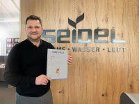 Seidel Heizung und Bad für Großen Preis des Mittelstandes nominiert