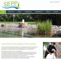 Die neue Website von SEPP Galabau unter www.sepp-garten.de