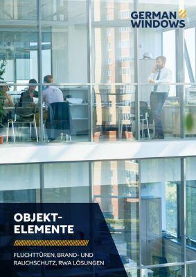 """German Windows bietet mit seiner neuen Broschüre """"Objektelemente"""" eine übersichtliche Aufstellung (Foto: German Windows)."""