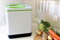 Kompakt und modern. Mit dem SmartCARA lassen sich organische Abfälle problemlos entsorgen.