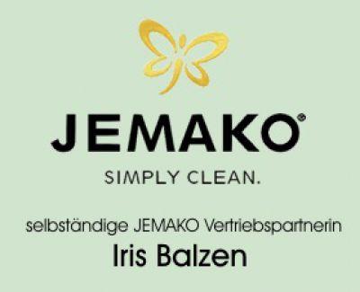 Unternehmenslogo JEMAKO-Vertriebspartnerin Iris Balzen