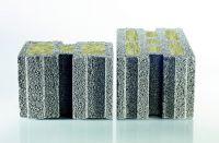 Massive Leichtbeton-Mauersteine besitzen eine porige Struktur im Inneren, die für eine besonders gute Dämmung sorgt.