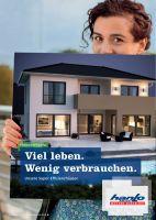Die kostenfreie Hanlo-Broschüre bietet wertvolle Informationen zur energieeffizienten Bauweise. (Foto: HANLO-Haus)