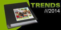 """""""TRENDS 2014"""": 230 Seiten Entwicklungen zu Materialien, Design, Ladenbau, Möbel und Lifestyle."""