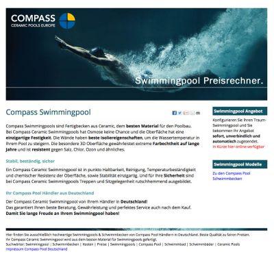Compass Pool Preisrechner
