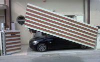 Die ideale Absperrlösung für wenig Platz. Avantgates Vertikaltore als Privatserie oder Industrieserie. Technik by Preiser