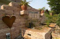 Mauersysteme geben dem Außenbereich eine individuelle Struktur