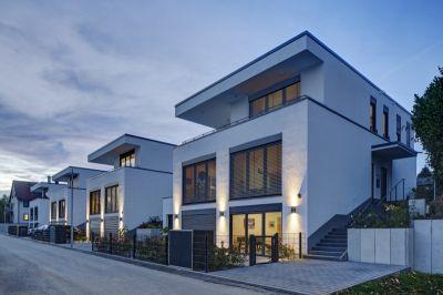 Ziegelarchitektur bietet hohen Wohnkomfort: In Bad Vilbel wurde ein Quartier mit 87 Wohnbauten errichtet (Bild: UNIPOR, München).
