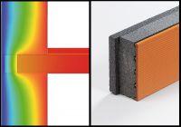 Wärmebrücken vermindern: Systemprodukte ermöglichen eine geschlossene Wärmedämmebene in der Gebäudehülle (Bild: Unipor, München).