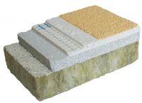 """Massiv & mineralisch: Das """"maxit Dickputz-WDVS"""" ist mehrschichtig aufgebaut und wird zur """"robusten Schale"""" über dem Dämm-Material."""