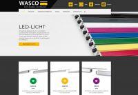 Die neue Internetpräsenz von Wasco bietet Informationen zu den Produkten des Spezialisten für LED-Hallen-Lichtbänder. Foto: Wasco