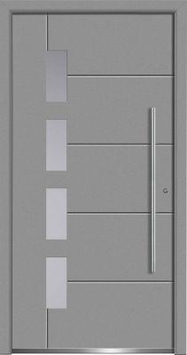 Aluminium-Haustüren der Aktion Concept Class - sicher, schön und günstig!   Foto: Wirus-Fenster