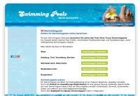 Swimmingpool Preise online berechnen