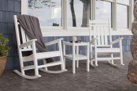 Schaukelstuhl, Hängeschaukel und andere Möbel aus Polywood von Casa Bruno