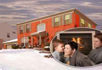 Dank ihrer guten Wärmedämmung und Speicherfähigkeit schützen massive Unipor-Mauerziegel die Bewohner im Winter optimal vor Kälte.